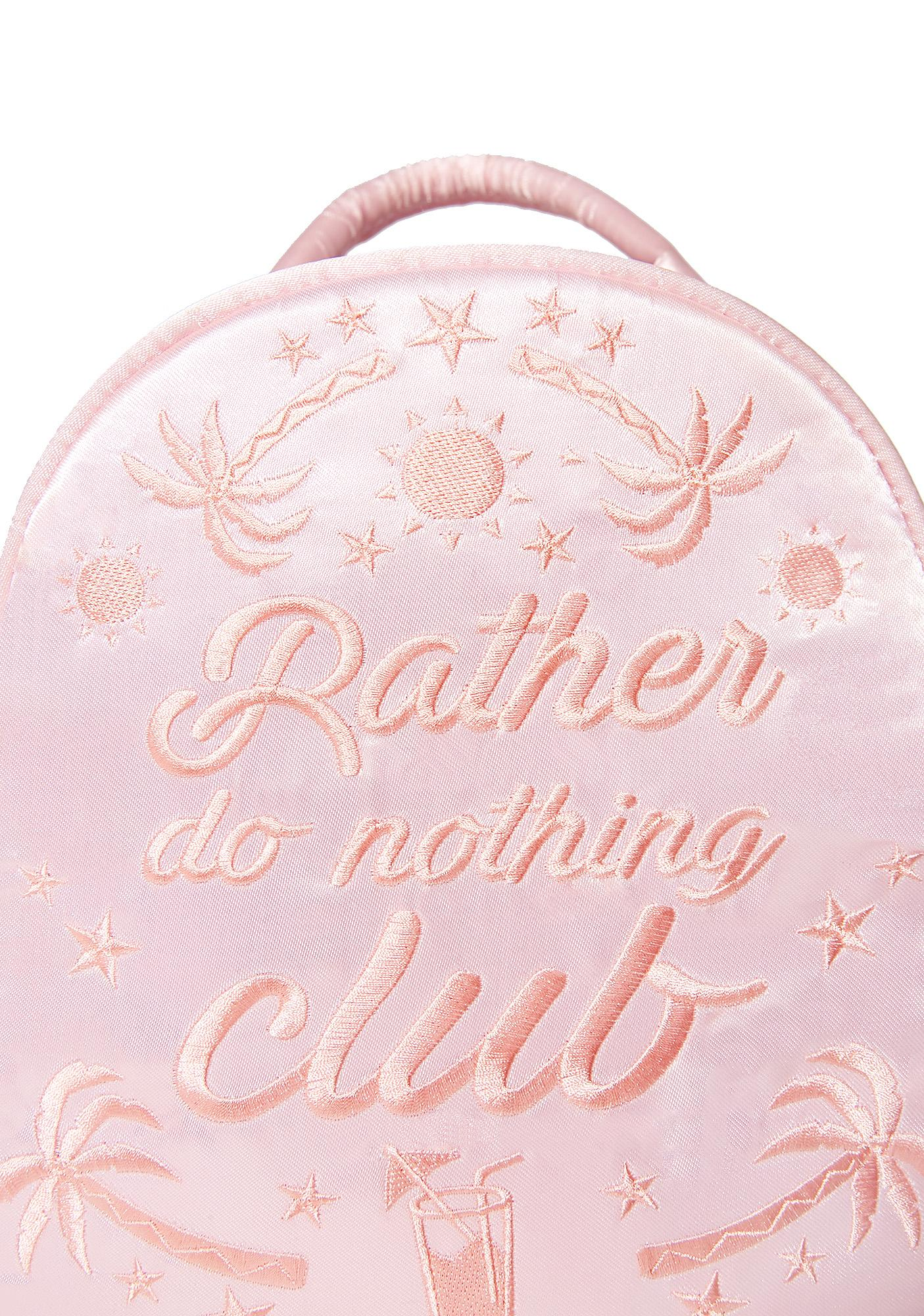 Skinnydip Rather Do Nothing Club Mini Backpack