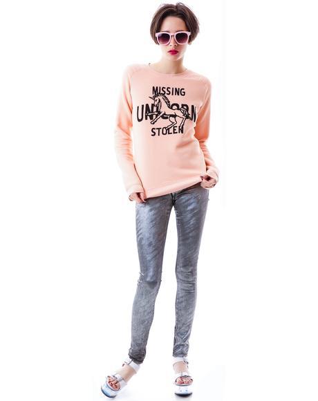 Missing Stolen Unicorn Sweatshirt