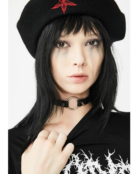 Wrath Of A Menace Spike Choker