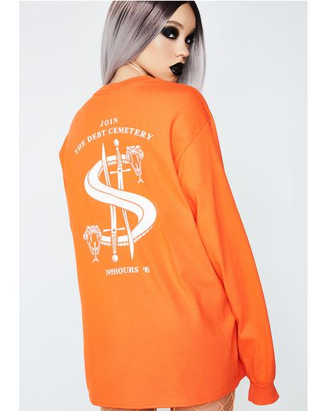 Debt Snake Long Sleeve