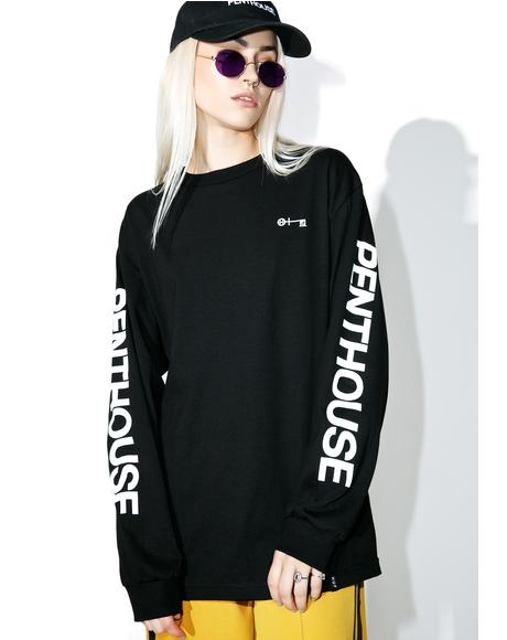 Penthouse Long Sleeve Tee