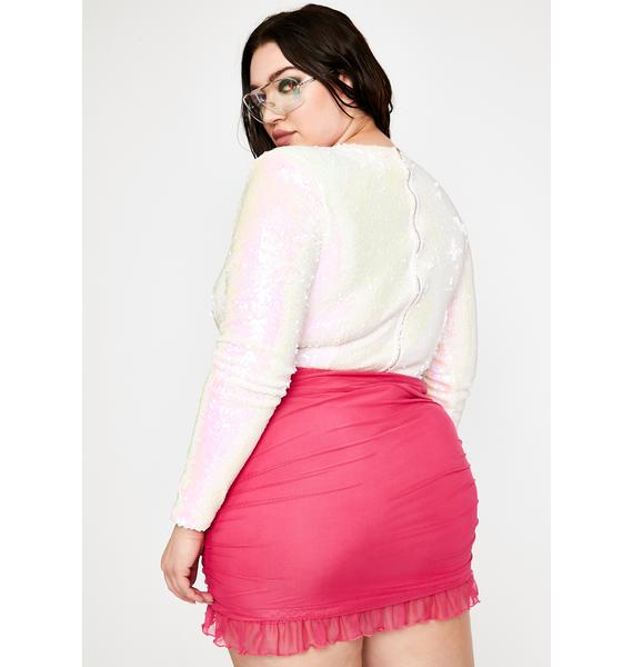 Miss Pixie Queen Sequin Bodysuit