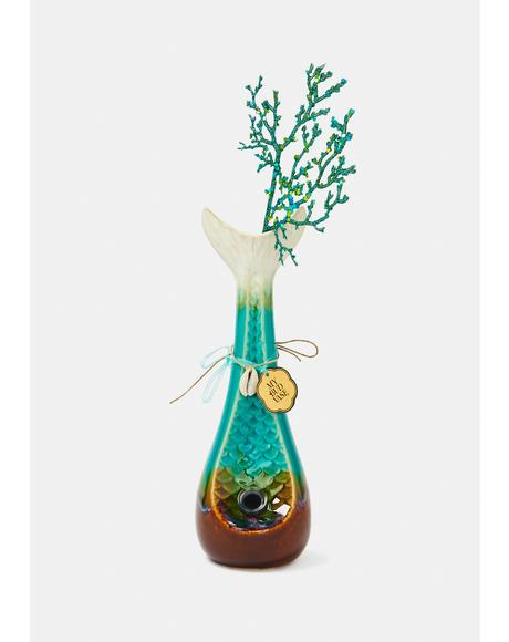 Mermaid Bud Vase Bong