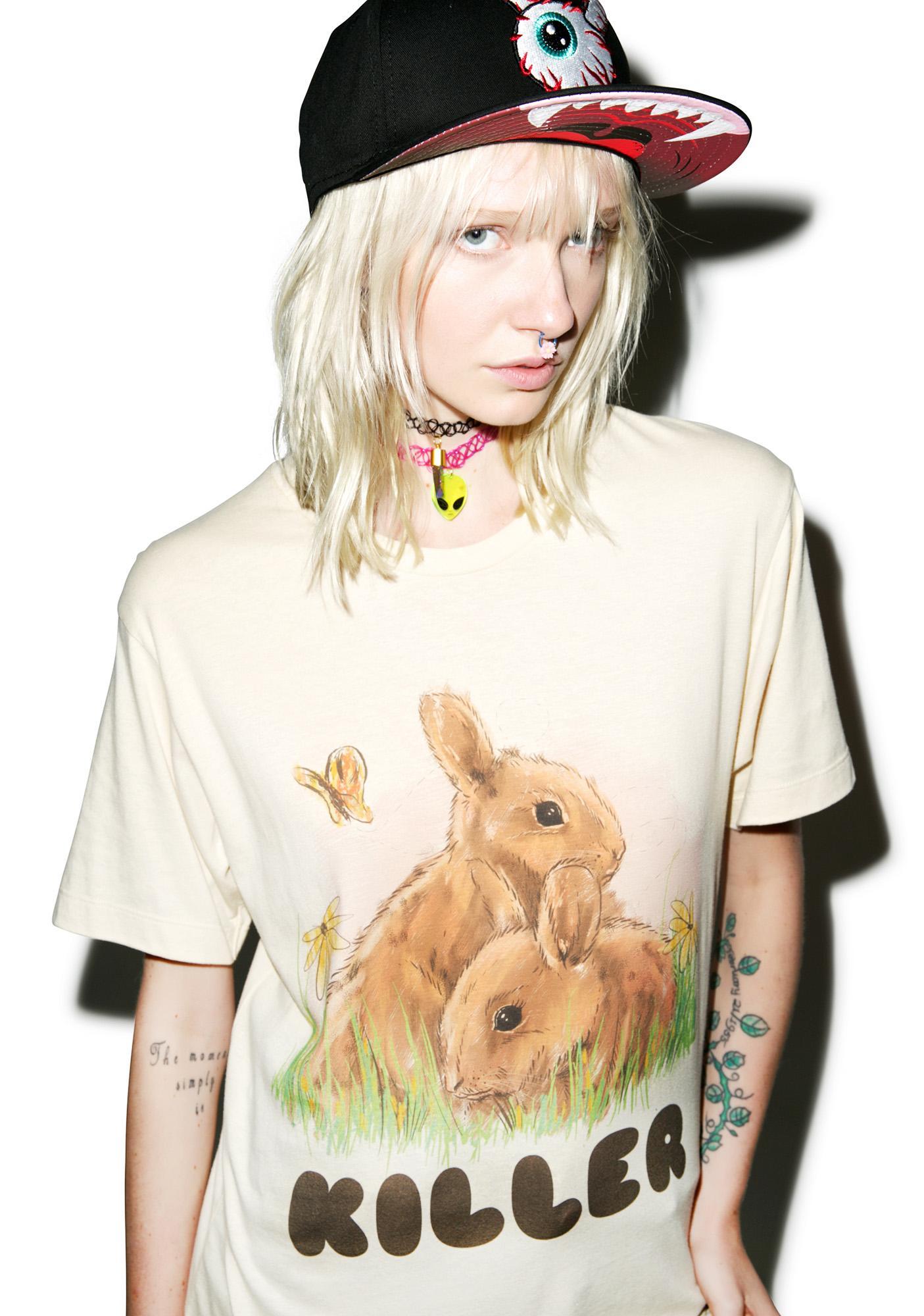 Kill Brand Loose Bunny Tee