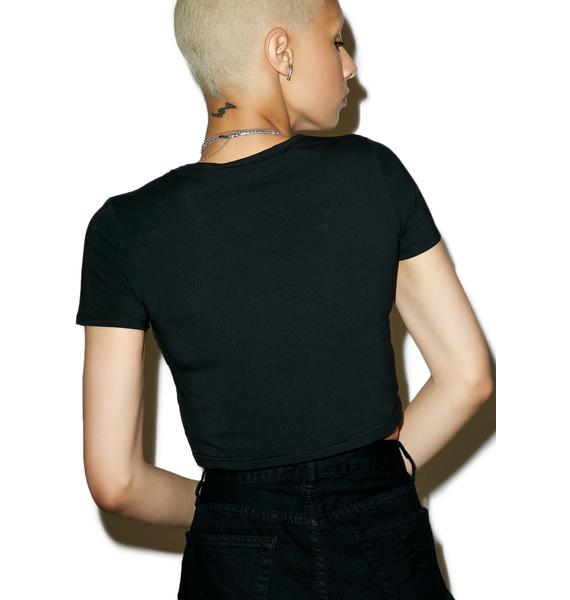 Killstar Netflix Crop Tee