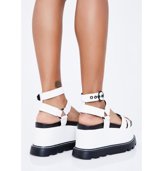 Lamoda Pure Keep Smiling BB Platform Sandals