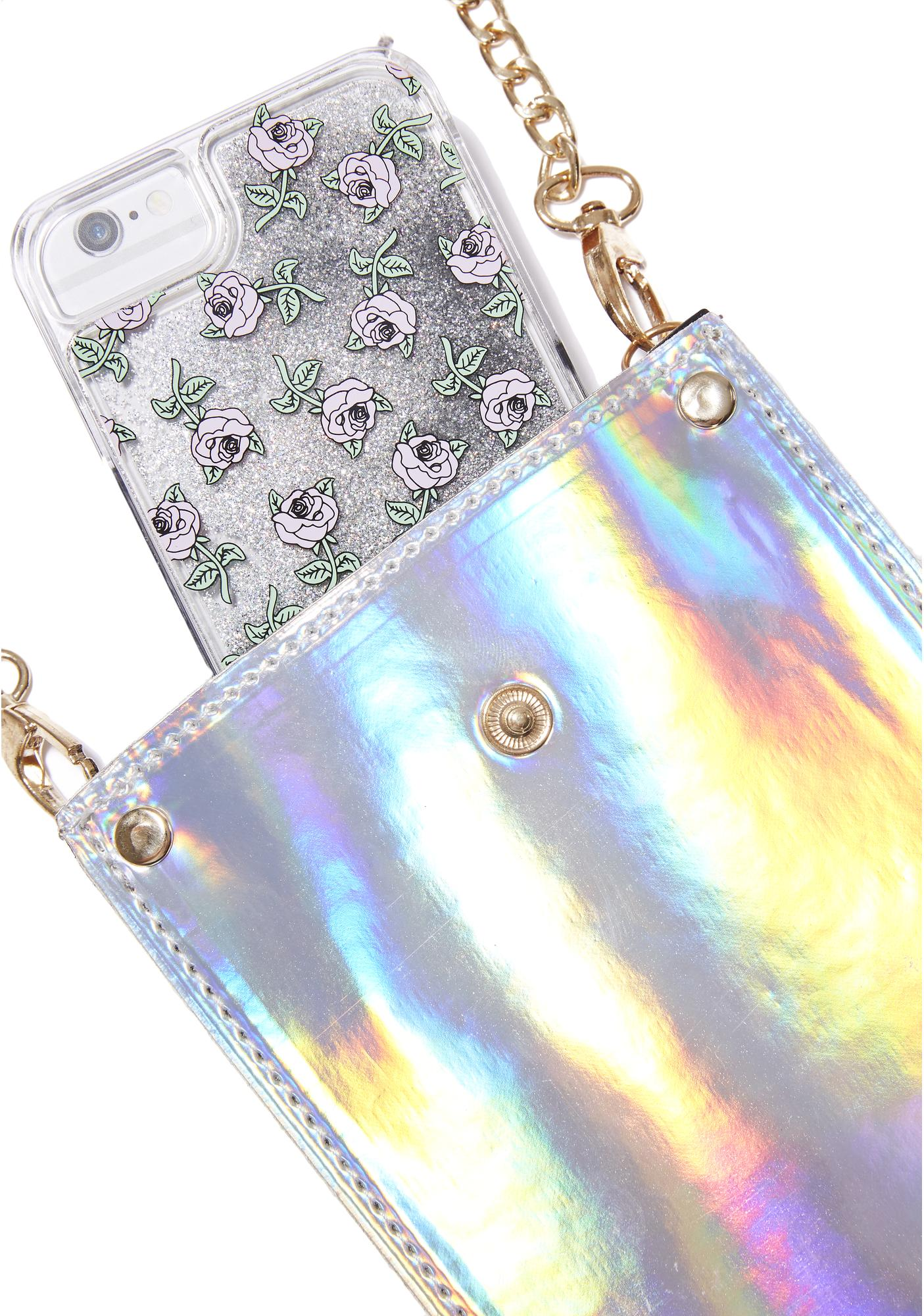 Time Traveller Cell Phone Crossbody Pouch