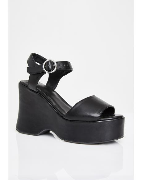 American Craft Platform Sandals