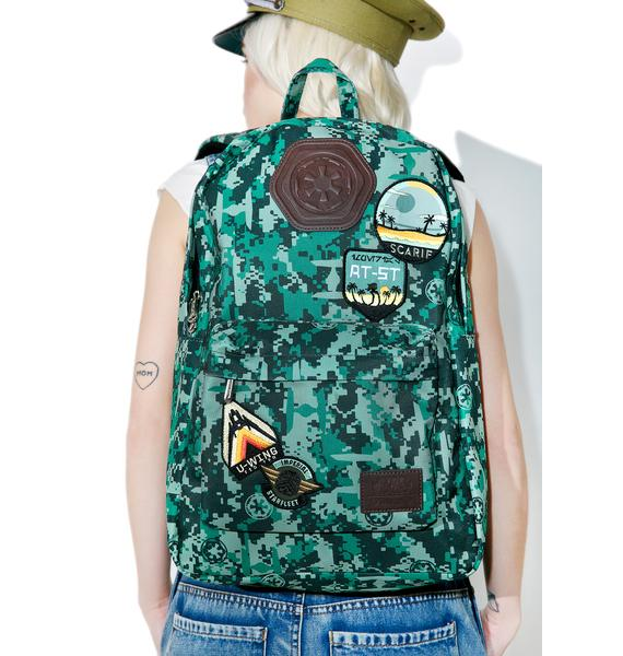 Loungefly Rebel Alliance Nylon Backpack