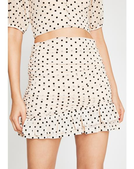 Not So Subtle Ruched Skirt