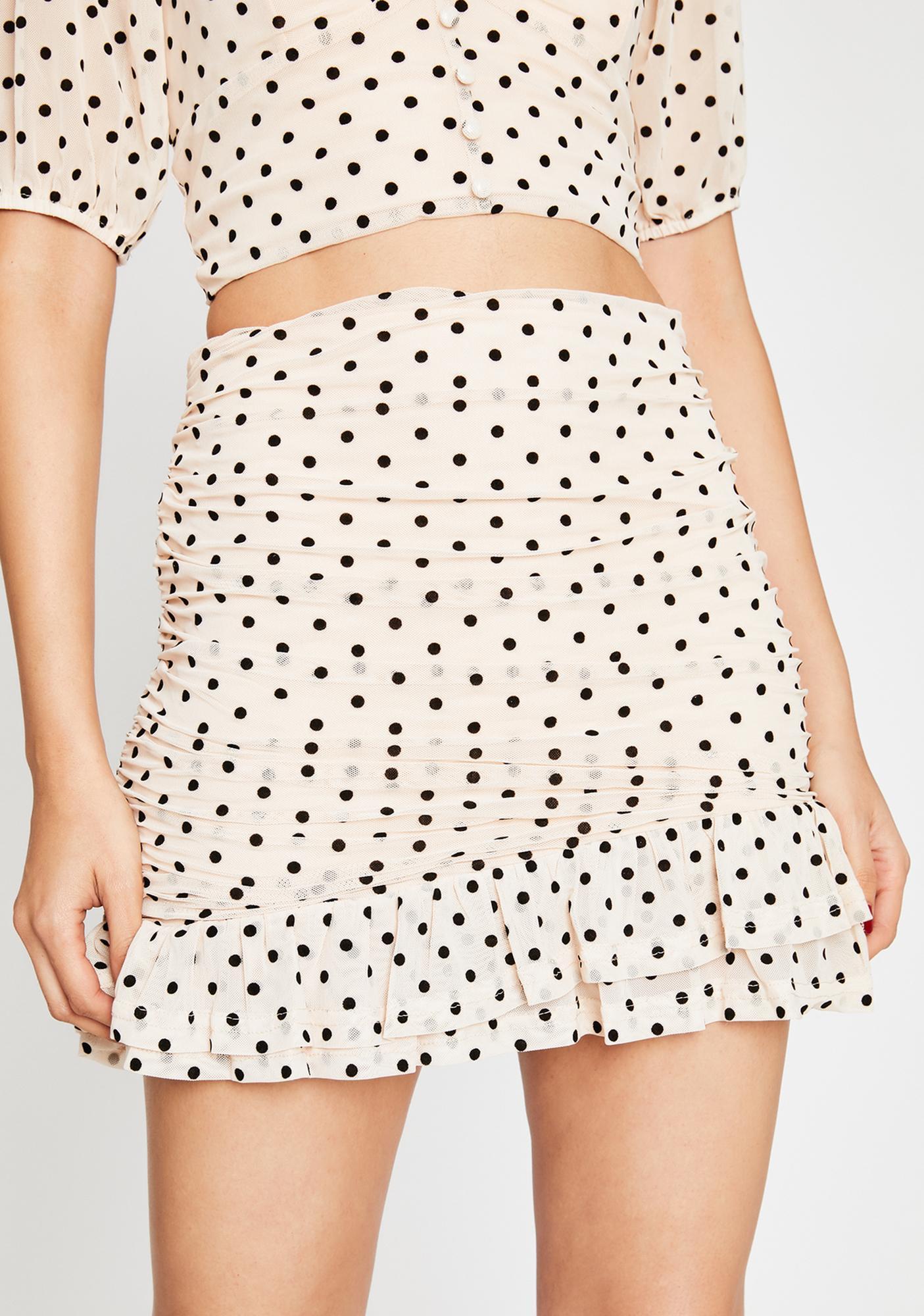 Re Named Not So Subtle Ruched Skirt