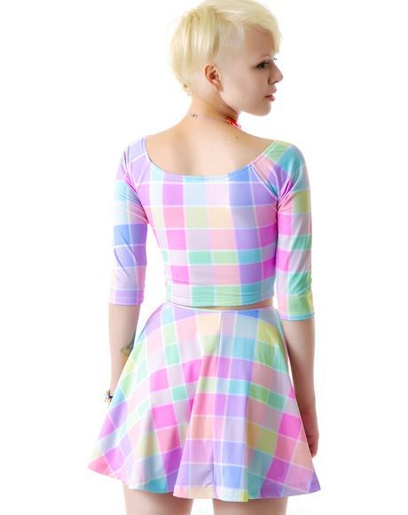 Whatever Pastel Skirt Set