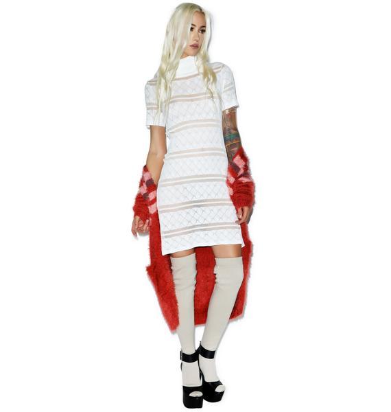 For Love & Lemons Stevie Turtleneck Dress