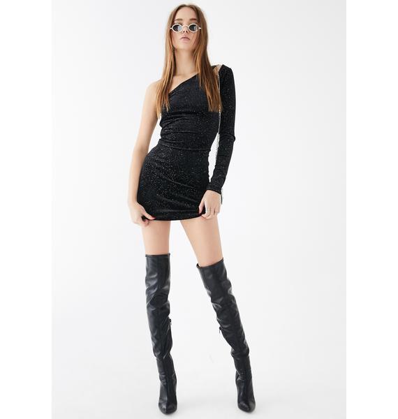 Glamorous One Shoulder Mini Dress