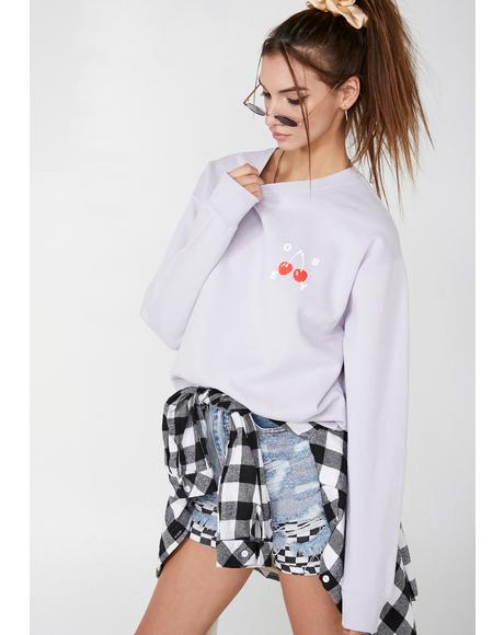 Cherries 2 Graphic Sweatshirt