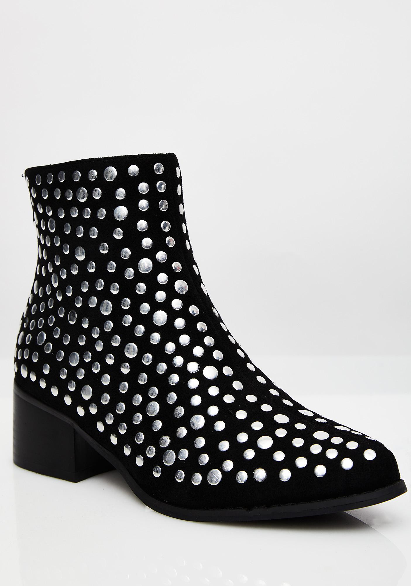 Ride Forever Studded Booties