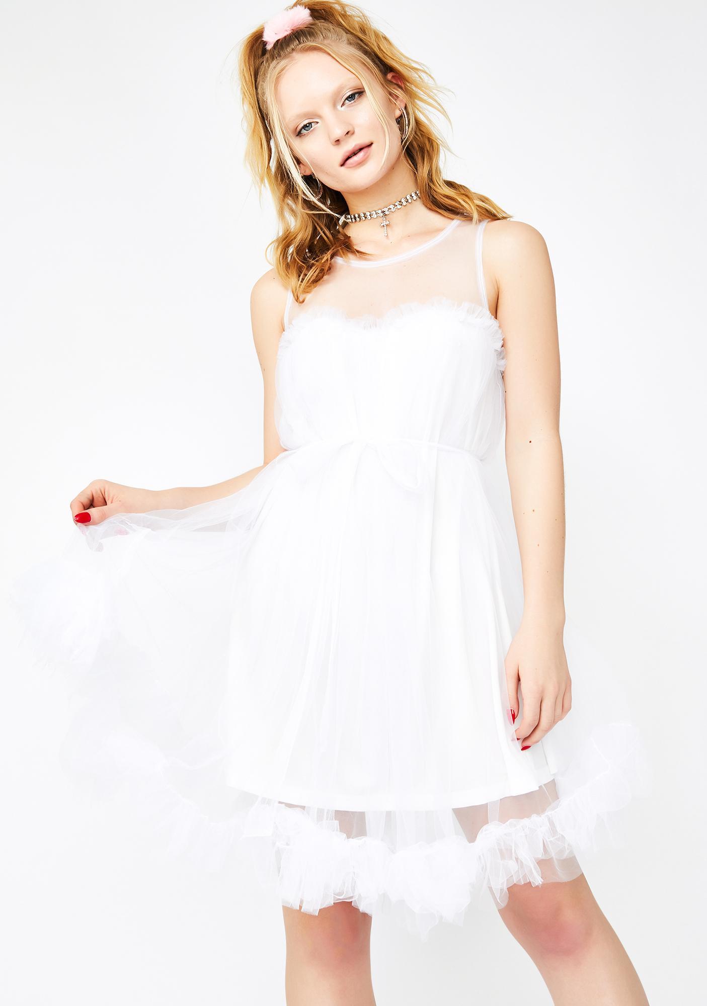 Pure Romantic Splendor Tulle Dress