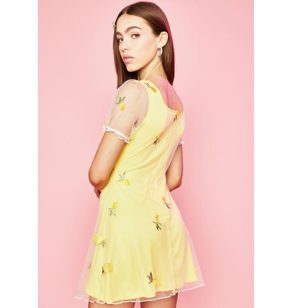 Sugar Thrillz I Got The Juice Babydoll Dress