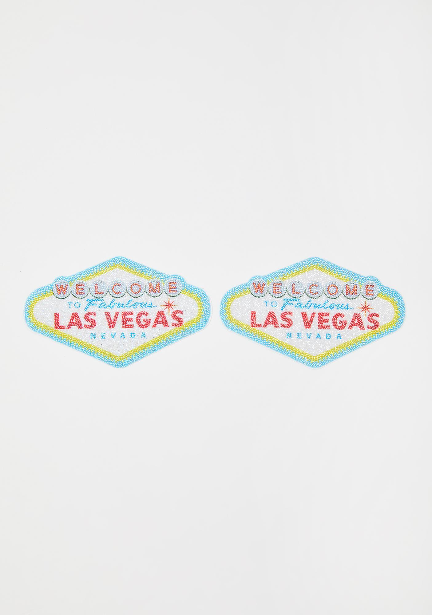 Pastease Single Vegas Sign Pasties