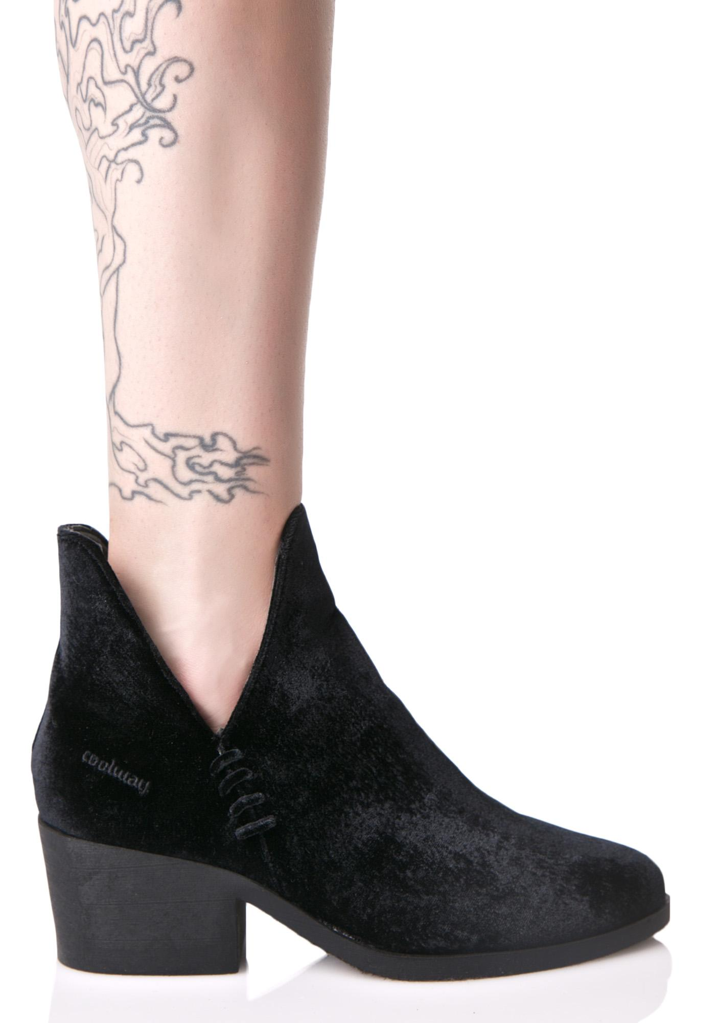 Brielle Cutout Ankle Boots