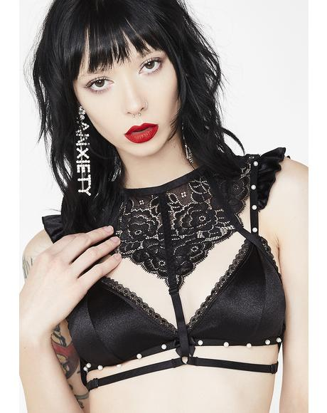 Sin Adorned With Luv Lace Harness