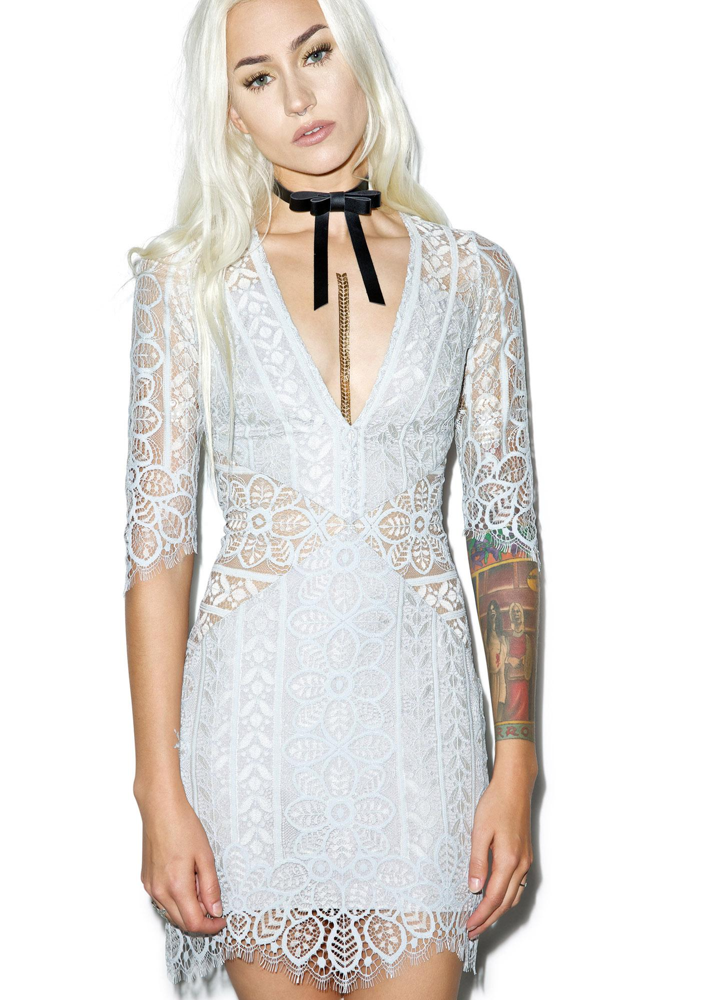 For Love & Lemons Lyla Cocktail Dress