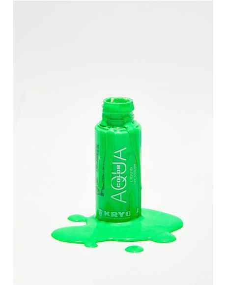Green Aquacolor Liquid UV Color