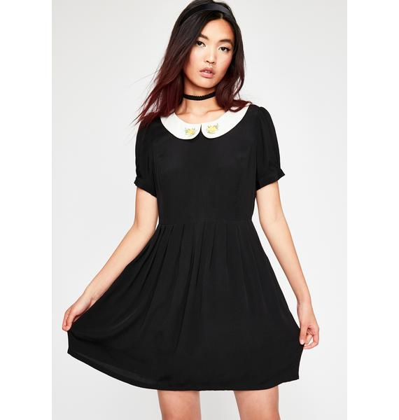 Current Mood Salty But Sweet Babydoll Dress