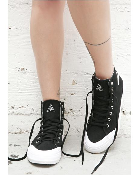 X Obey Classic Hi Top Sneakers