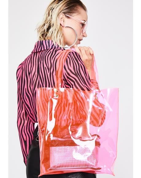 Sweet Lucid Dreamz Clear Tote Bag
