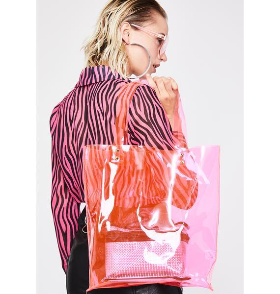 Sweet Lucid Dreamz Clear Tote Bag