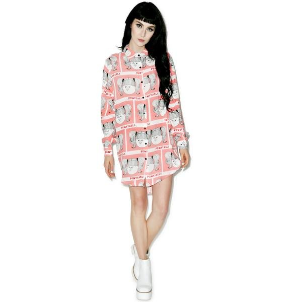 Lazy Oaf Ponytail Shirt