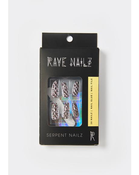 Serpent Acrylic Nails