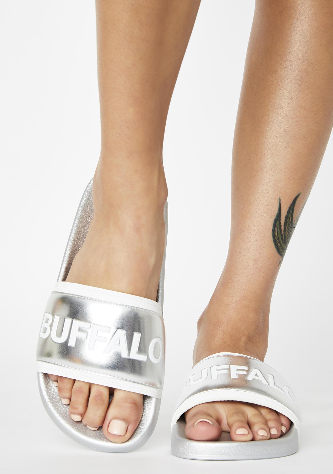 Buffalo Silver Jola Slides