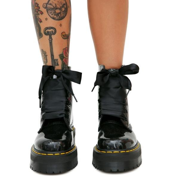 Dr. Martens Molly 8 Eye Boots