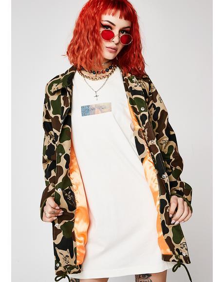 Twill Camo Jacket