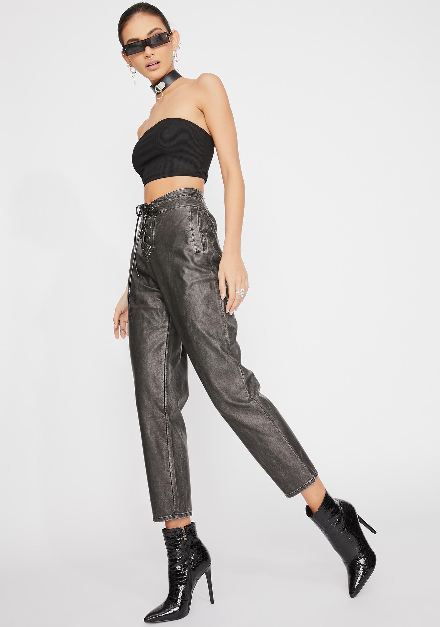 STEELE Tempest Lace-Up Pants