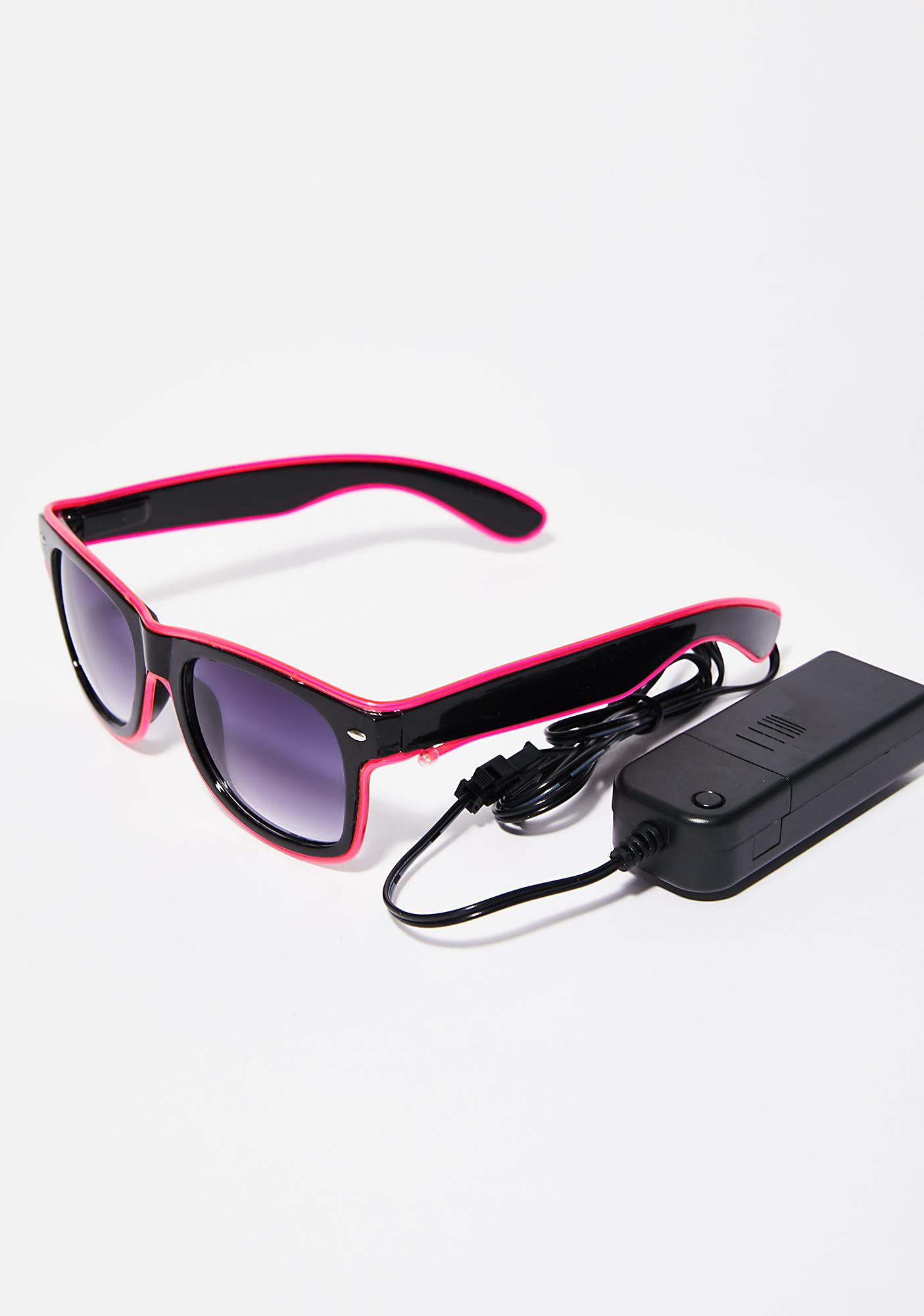 Always Lit Light-Up Sunglasses