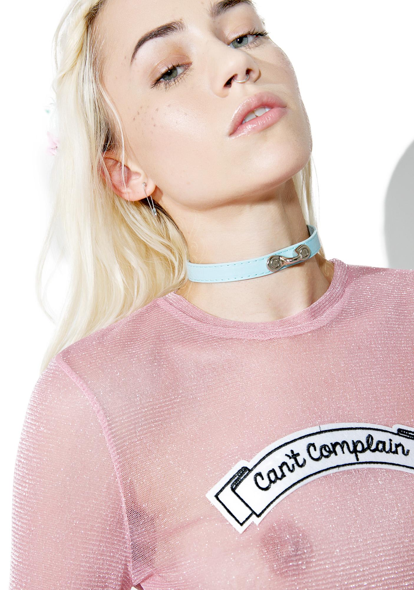 NecroLeather Submissive Choker