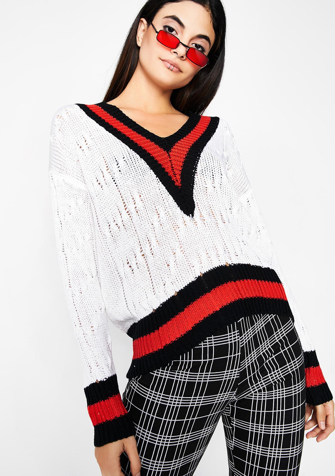 Secret Dropout Sweater