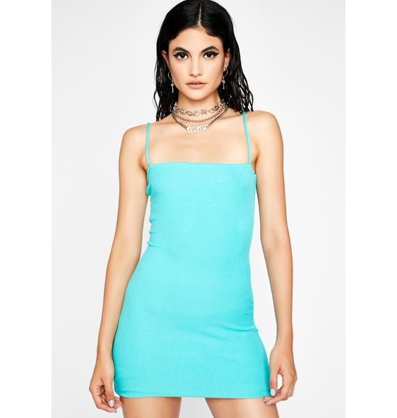 Aqua It Girl Mini Tank Dress