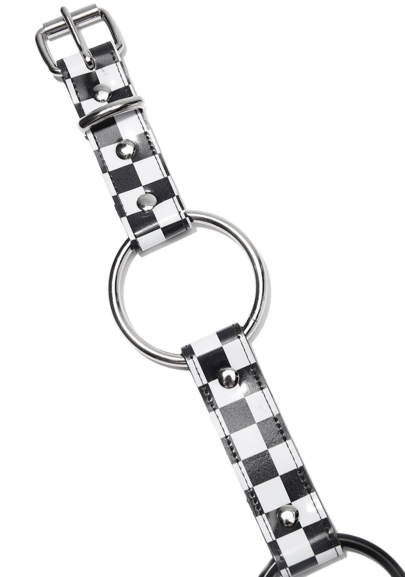Rabble Rouser Checkered O-Ring Belt