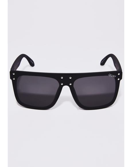 x Kylie Smoke Hidden Hills Sunglasses