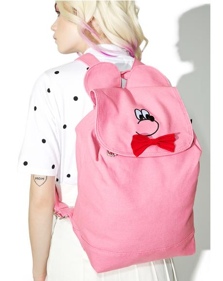 Bear Head Backpack
