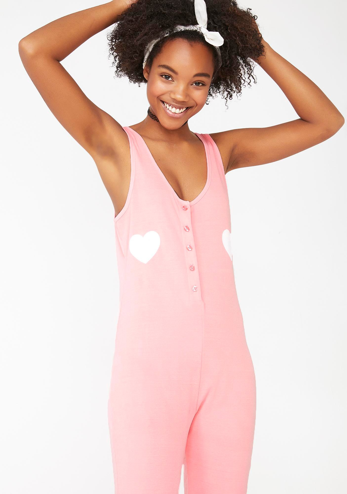 Wildfox Couture Loveable Stay In Onesie