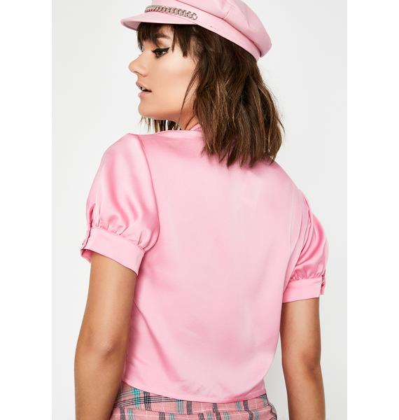 Best Dressed Dame Crop Top