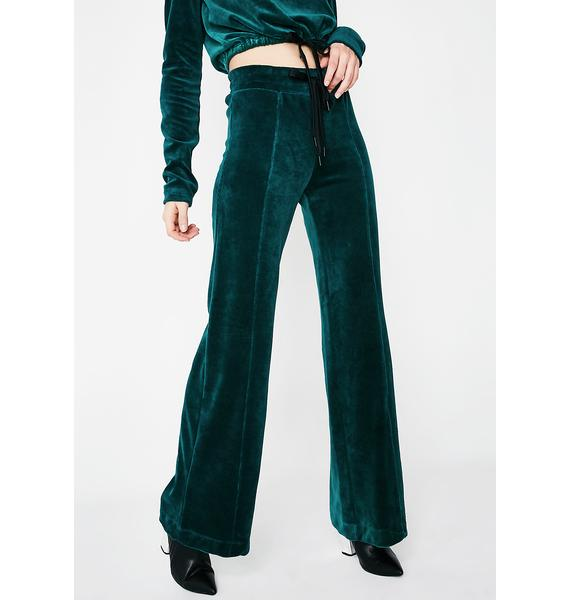 Year Of Ours Velour Warm Up Pants