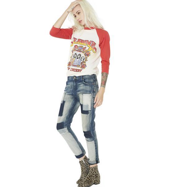 Kill City Mischief Patch Jeans