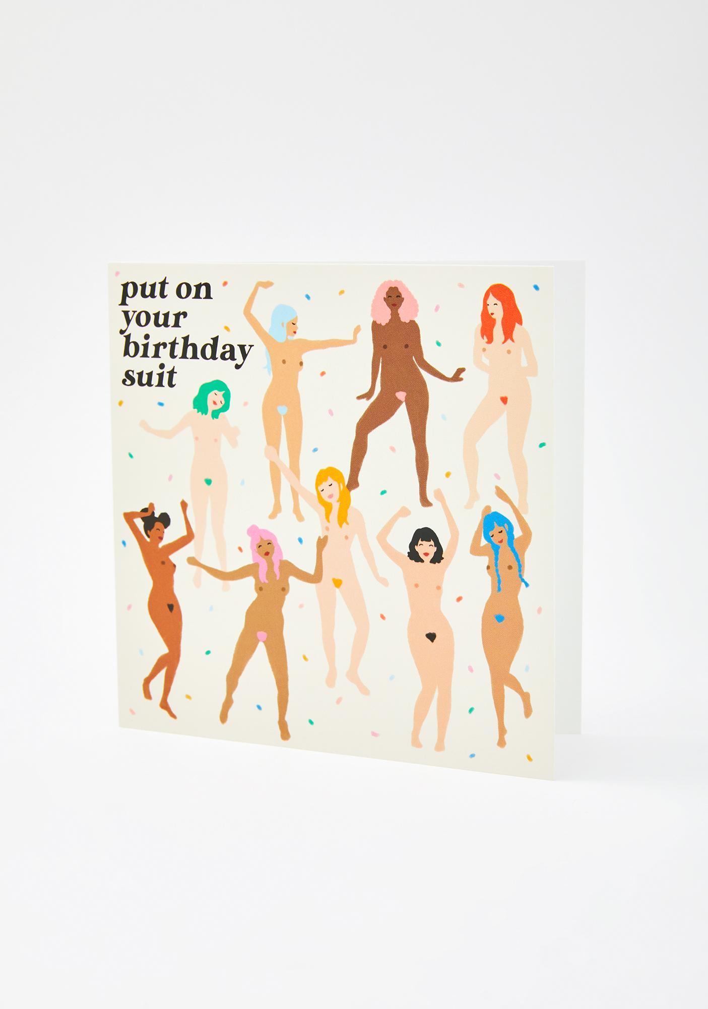 Central 23 Birthday Suit Card
