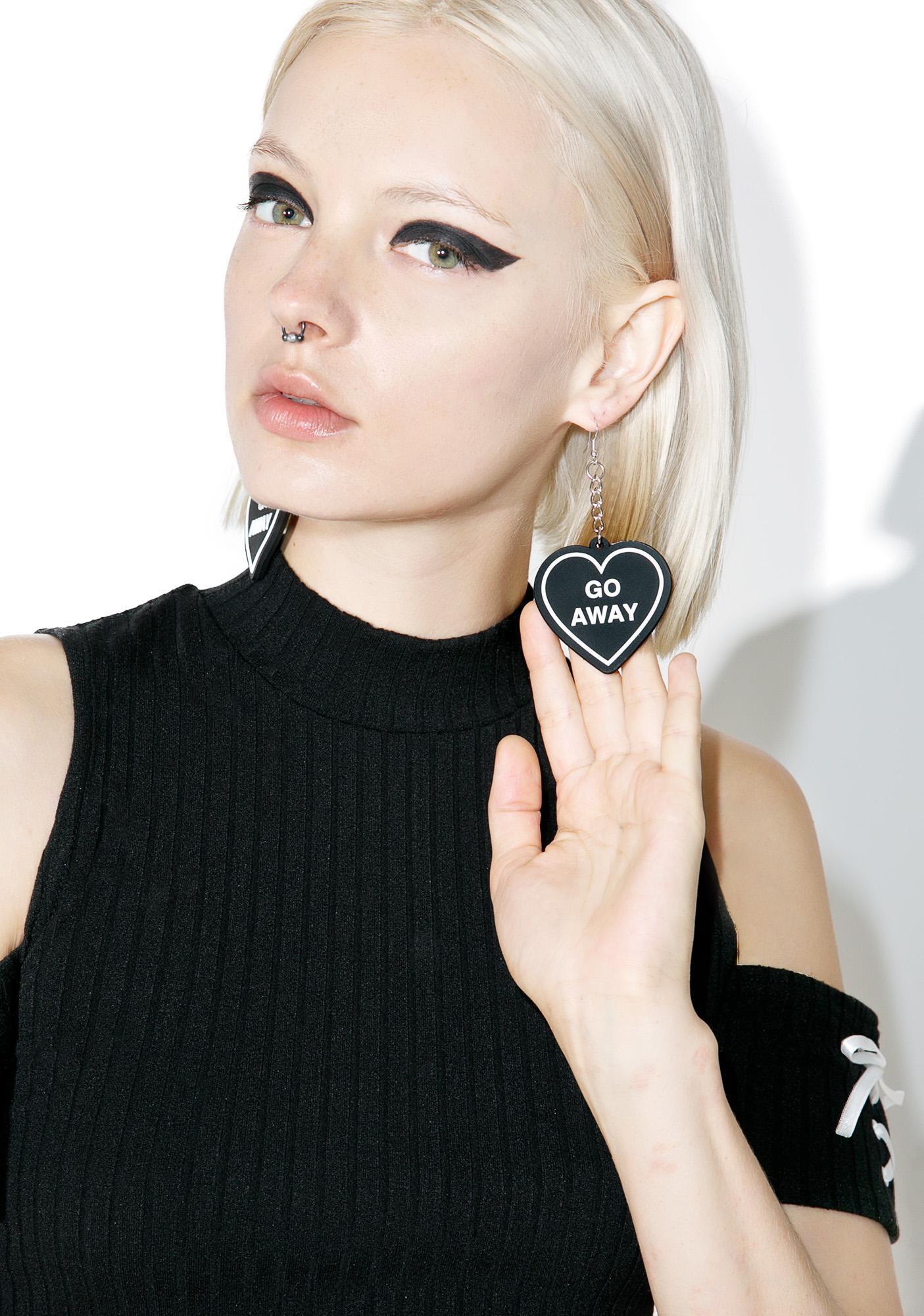 Witch Worldwide Go Away Earrings